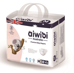 Aiwibi Bamboo Baby Diaper Envirnmentally Friendly Biodegradable