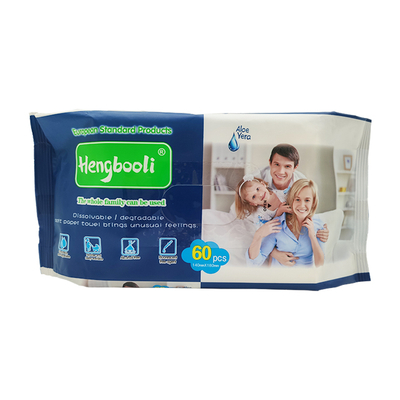 OEM Gentle Soft Cleansing Wet Wipes For The Whole Family
