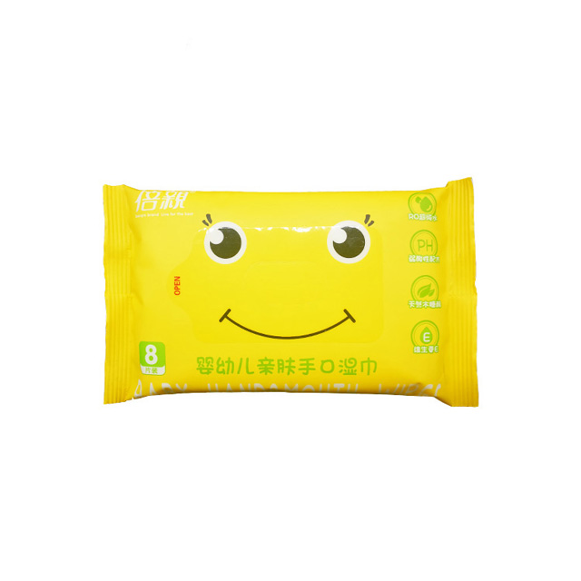 OEM Spunlace Non Woven Custom Baby Wet Wipes China with 10pcs/pack