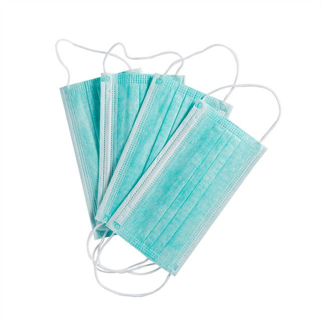 Disposable Non Woven Fabric Materials Earloop Surgical Face Masks