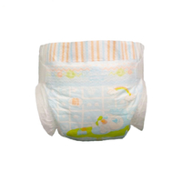 OEM Fine Baby Diapers nappies with Embossed Non Woven Fabric