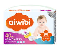 Aiwibi baby nappy diapers kids diapers with super absorption in wholesale price
