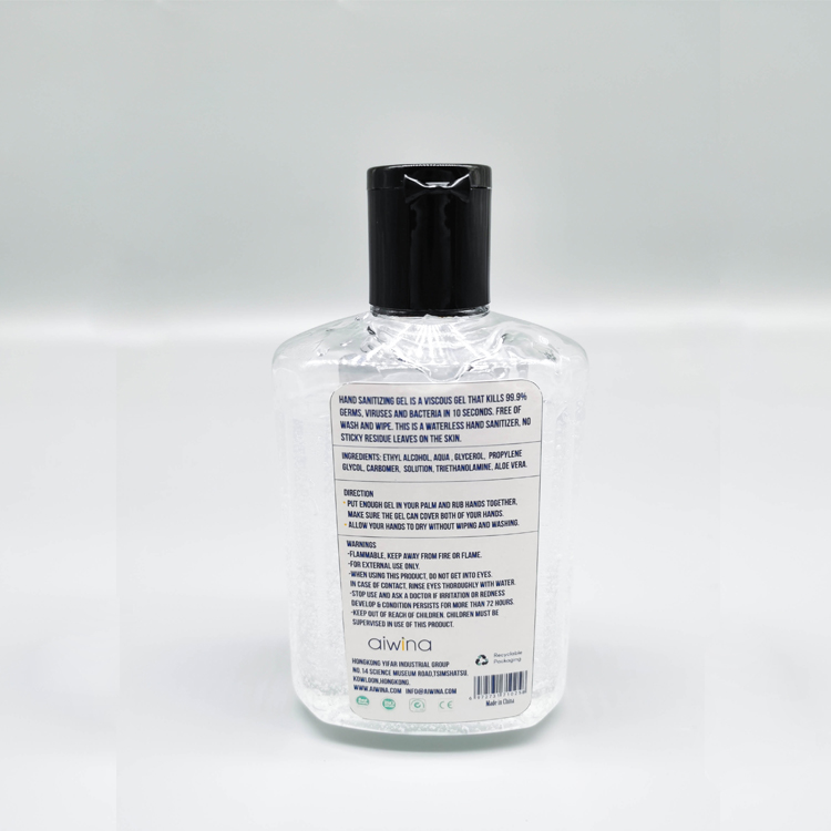 200ml Hand Sanitizer Gel Including Alcohol
