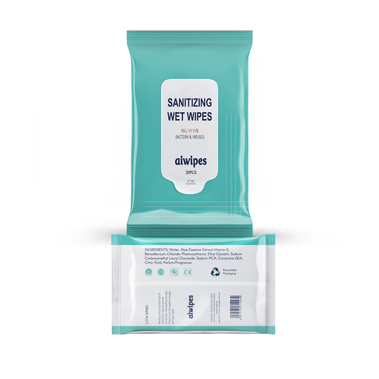 Aiwipes Alcohol Free Antibacterial Disinfecting Wet Wipes